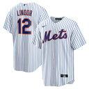 フランシスコ・リンドール フランシスコ・リンドーア ユニフォーム メッツ ナイキ Nike レプリカ ホーム ホワイト MLB 21ns 21nrs