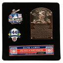 ハンク・アーロン グッズ MLB 1982 殿堂入り記念 ピンバッチ ピンズ スタンド