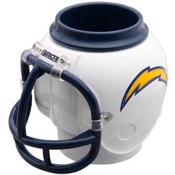 NFL グッズ チャージャース ヘルメット マグカップ ペンスタンド FanMug FanMug