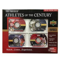 NBA CD-ROMカード パワーデック 1999 ジョーダン ジョー・モンタナ ベーブ・ルース ウェイン・グレツキー Upper Deck
