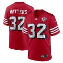 NFL リッキー・ワターズ 49ers ユニフォーム 75周年記念 オルタネート 引退選手 Game ジャージ ナイキ Nike スカーレット