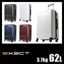 【緊急開催:楽天カードでP24倍!2/25(日)0:00〜23:59】エース スーツケース M 62L イグザクト フェイザー ACE exact 06082