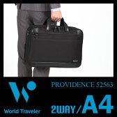 エース ワールドトラベラー プロビデンス ビジネスバッグ メンズ 軽量 2WAY ブリーフケース A4 Ace World Traveler Providence 52563