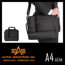 アルファ/2Way/ビジネスバッグ/ブリーフケース/ALPHA/アルファインダストリー/4871