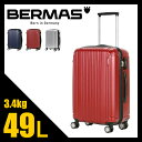 ★緊急開催中!楽天カードでP19倍!バーマス プレステージ2 スーツケース S Mサイズ 49L 軽量 ファスナータイプ BERMAS 60263