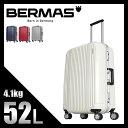 【緊急開催中!楽天カードでP19倍】バーマス プレステージ2 スーツケース M 52L 軽量 フレーム Mサイズ 中型 BERMAS 60265