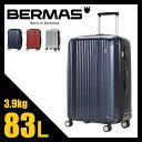 ★緊急開催中!楽天カードでP19倍!バーマス プレステージ2 スーツケース L 83L 軽量 ファスナー 大型 Lサイズ 大容量 BERMAS 60264