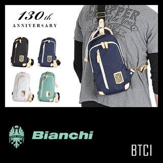 ビアンキ/ボディバッグ/正規品【Bianchi】【BTCI-01】【ワンショルダーバッグ/ボディーバッグ/斜めがけバッグ】【チェレステ】【メンズ/レディース】【ポイント10倍】【送料無料】【楽ギフ_包装】