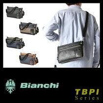 ビアンキショルダーバッグ日本正規品サコッシュミニ小さめ小さい防水メンズレディースBianchiTBPI-10