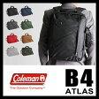 コールマン アトラス ビジネスバッグ 3WAY リュック ブリーフケース ミッション 18L B4 COLEMAN ATLAS