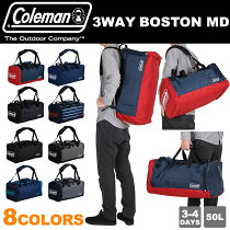 ������ޥ�ȥ�٥�ܥ��ȥ�Хå�3WAY���å����������ȥ�٥�50LColemanTRAVEL3WAYBOSTONMD