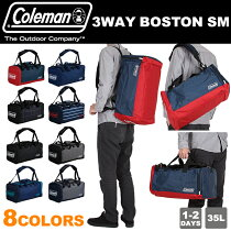 ������ޥ�ȥ�٥�ܥ��ȥ�Хå�3WAY���å����������ȥ�٥�35LA3ColemanTRAVEL3WAYBOSTONSM