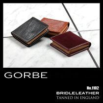 GORBEコインケース小銭入れブライドルレザーメンズ1100