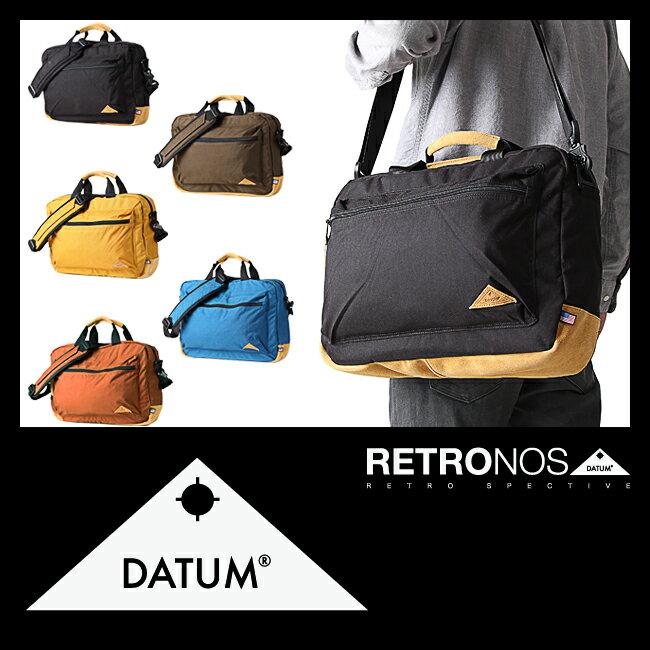 デイタム レトロノス ビジネスバッグ ブリーフケース 2WAY DATUM RETRONOS 46305