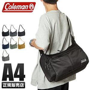 コールマン ウォーカー ショルダーバッグ メンズ 斜めがけ かっこいい 大容量 8L A4 Coleman COOL SHOULDER MD