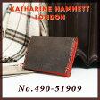 キャサリンハムネット カードケース カラーテーラード KATHARINE HAMNETT 490-51909