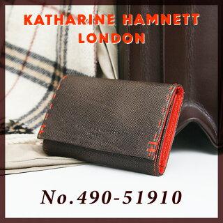 KATHARINEHAMNETTキャサリンハムネット【キーケース】【カラーテーラード】【490-51910】【送料無料】