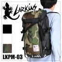 ラーキンス リュック リュックサック バックパック 大容量 防水 ターポリン メンズ レディース LARKINS LKPM-03