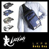 ラーキンスボディバッグ防水性・防汚性に優れたターポリン素材を使用LARKINSLKPM-15