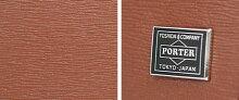 吉田カバンポーターカレント財布/ポーターカレント長財布ラウンドファスナー革財布薄マチメンズレディース【PORTERCURRENT】【052-02210】