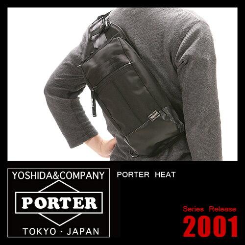 吉田カバン ポーター ヒート ワンショルダーバッグ ボディバッグ PORTER 703-08000