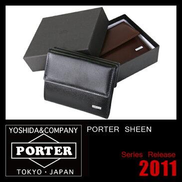 吉田カバン ポーター 財布 三つ折り財布 メンズ レディース PORTER 110-02971 ミニ コンパクト 小さい 小さめ 極小財布