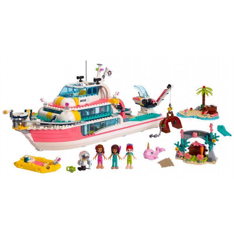 【7/7発売予定】レゴ (LEGO) フレンズ Boat for rescue operations 41381