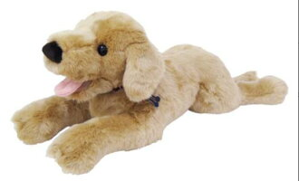 ≪吉徳のぬいぐるみ≫DOGLOVERS(ドッグラヴァーズ)ゴールデンレトリバーM(犬、いぬ、イヌ、人形、玩具、おもちゃ、ぬいぐるみ、キャラクターグッズ、プレゼントに最適)