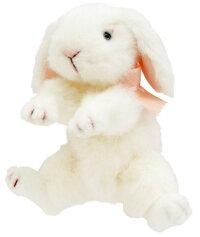 ≪吉徳のぬいぐるみ≫ぬいぐるみロップイヤーウサギMホワイト【送料無料】(うさぎ、ウサギ、人形、ぬいぐるみ、キャラクターグッズ、プレゼントに最適)