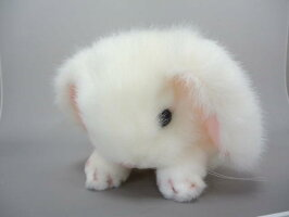 ≪吉徳のぬいぐるみ≫ぬいぐるみロップイヤーウサギSホワイト180603【送料無料】(うさぎ、ウサギ、人形、ぬいぐるみ、キャラクターグッズ、プレゼントに最適)