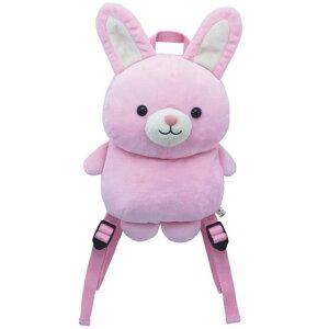 スマイルパレードリュック/ウサギ(7198) 【送料無料】(リュックサック、バッグ、カバン、かばん、うさぎ、ウサギ、兎、ぬいぐるみ、キャラクターグッズ)