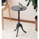 クラシック サイドテーブル CTN−3030 ホワイト/ブラック 【送料無料】(サイドテーブル、ナイトテーブル、ダイニングテーブル、キッチン机)(楽天ラ