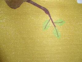 【金糸】【のれん七福桜ふくろう】ゴールド(13340)【送料無料】(インテリア、のれん、暖簾、キッチン用品)