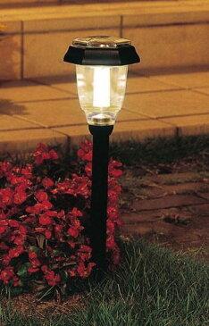 パルス式ソーラーライト ホワイト GSL-P4W/電球色 GSL-P4L 【送料無料】(ガーデンライト、屋外照明、ライト)
