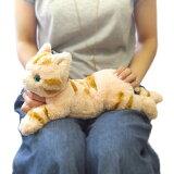 ひざねこ BR  Sサイズ(P-1962-1)【送料無料】(ねこ、ネコ、猫、ぬいぐるみ、人形、玩具、おもちゃ、キャラクターグッズ、プレゼントに最適)6344646
