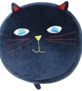 ミミココモモラウンドクッション Plune プルーンコラボ【送料無料】(ネコ、ねこ、猫、具、クッション)