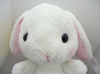 ぽてうさろっぴーBIGしろっぴー35cm【送料無料】(うさぎ、ウサギ、人形、玩具、おもちゃ、ぬいぐるみ、キャラクターグッズ)