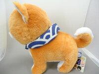 豆しば三兄弟BIG豆太郎32cm【送料無料】(イヌ、いぬ、柴犬、ドッグ、人形、玩具、おもちゃ、ぬいぐるみ、キャラクターグッズ)