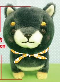 豆しば三兄弟ST 豆ジロー 16cm (イヌ、いぬ、柴犬、ドッグ、人形、玩具、おもちゃ、ぬいぐ…
