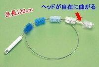 排水管クリーナー5連ブラシ(お風呂掃除用品、お風呂グッズ、排水溝掃除)