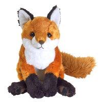 ひざきつね(P-3802-1)【送料無料】(キツネ、ぬいぐるみ、人形、玩具、おもちゃ、キャラクターグッズ、プレゼントに最適)