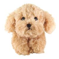 ひざわんこトイプードルBE(P-3042-1)【送料無料】(犬、いぬ、イヌ、ぬいぐるみ、人形、玩具、おもちゃ、キャラクターグッズ、プレゼントに最適)