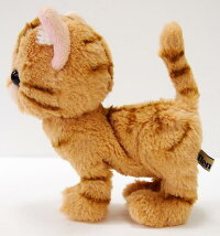 Kitten(キトン)ぬいぐるみアメリカンショートヘアーBR約16.5cm【送料無料】(ネコ、ねこ、猫、人形、玩具、おもちゃ、ぬいぐるみ、キャラクターグッズ、プレゼントに最適)