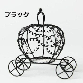 フラワーアレンジメント資材・花材【ワイヤーかぼちゃの馬車】【PlusHeart_アリスフラワー】【10,800円以上で送料無料】【卸_仕入】