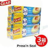 マジックラップ GLAD グラッド Press'n Seal プレス&シール 多用途シールラップ 3個セット|内祝い_お返し_結婚祝い_お誕生日_出産祝い|ギフト|お供え|10800円〜送料無料|秋冬_贈り物_ハロウィン|