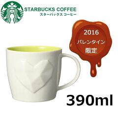 スターバックス ウィンター ホワイトハートマグ 390ml 2016 STARBUCKS スタ…