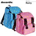 【decorate(デコレート)】【キッズバッグ】Rasty キッズ ジュニア/M【DMS-049】【送料無料】リュック ランドセル キッズバッグ ジュニアリュック アウトドア