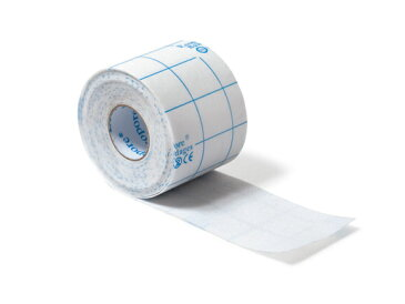 固定用粘着性不織布包帯(剥離紙付) - 50mm × 10.0m 1箱/1巻入 AWL