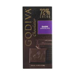 GODIVA ゴディバ タブレット ダークチョコレート カカオ72% お得なボリューム感のある板チョコ