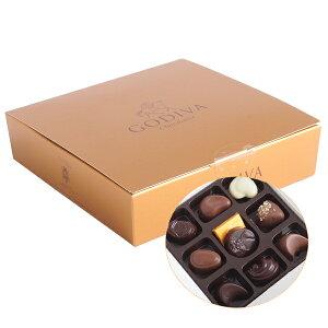 在庫処分50%OFFセール!GODIVA ゴディバ チョコレート コフレゴールド 10粒入り 少し豪華な贈り...